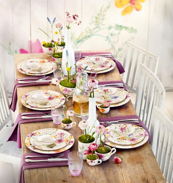 Villeroy  Boch Mariefleur Dinnerware  Contemporary