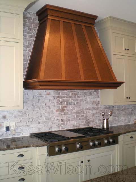 Pennies From Heaven A Faux Copper Vent Hood