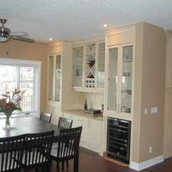 Tall Swivel Chair Madeleine Side Beaton Cabinets - Contemporary Dining Room Calgary By Prairie Point Interiors Inc