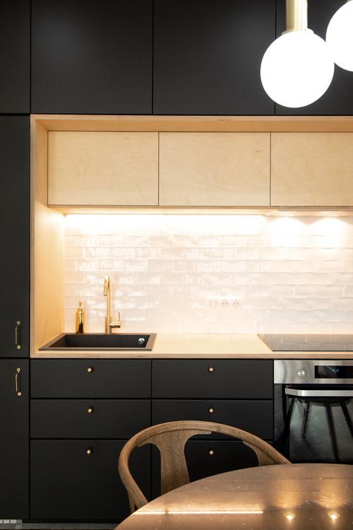 blanc pour decoration cuisine moderne