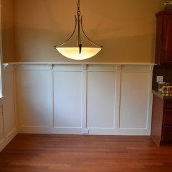 Area Rugs For Under Kitchen Tables Cabinets Accessories Manufacturer Craftsman Wainscot - Dining Room Portland ...