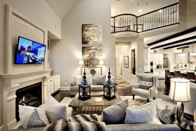 Enclave at Longview transitional-family-room
