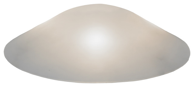 20 Metro Fusion Frosted Glass Cone Shade Lamp Shades