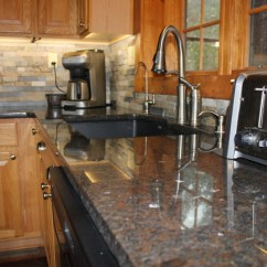 Slate Kitchen Faucet Memory Foam Mat Costco Cygnus/coffee Brown Granite - Rustic Kansas ...