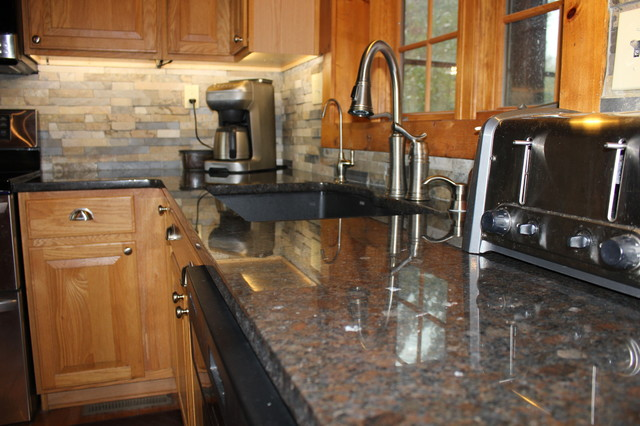 slate kitchen faucet target table sets cygnus/coffee brown granite - rustic kansas ...