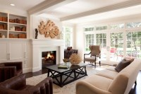 Contemporary Country Living Room - Traditional - Living ...