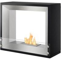 Mecca Freestanding Ventless Ethanol Fireplace, Ul/Cul ...