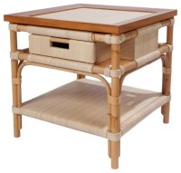 Koga End Table - Tropical - Side Tables & End Tables ...