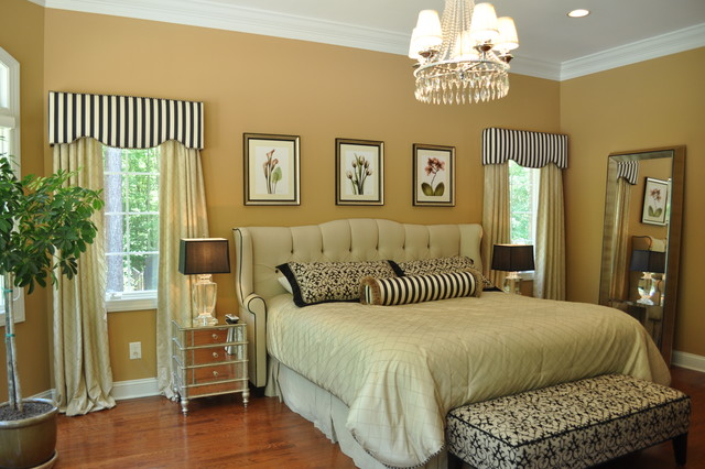Cornices Traditional Bedroom Raleigh By JSH Designs