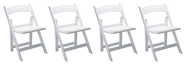 resin folding chairs for sale office chair reviews 2018 performance set of 4 contemporary outdoor white