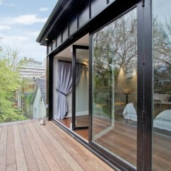 High Chairs Canada Red Plastic Outdoor Folding Glass Walls | - Modern Patio Other By Solar Innovations® Architectural ...