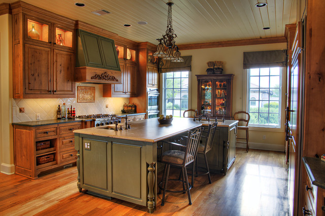 Luxury Home With A View Traditional Kitchen Austin