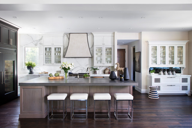 A Home With A Statement transitional-kitchen