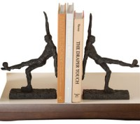 Soccer Kick Bookends, Pair - Contemporary - Bookends - by ...