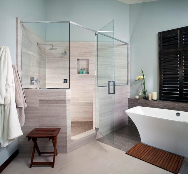 Mission Hills Master bath  Contemporary  Bathroom  San Diego  by Streamline Development