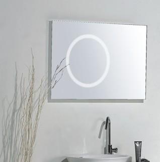 Mirror with Integrated Lighting  Capri  Modern