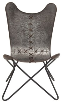 Beautiful and Unique Inspired Style Metal Stitched Chair ...
