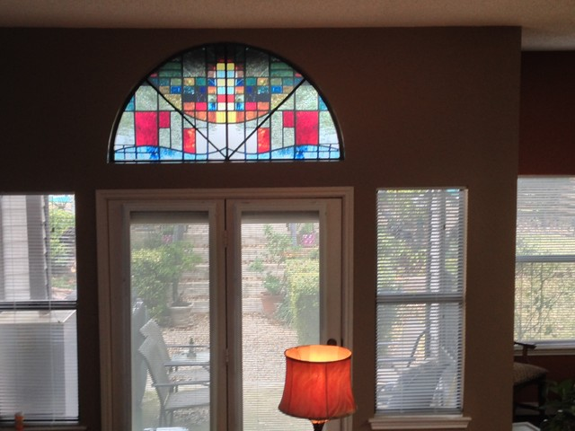 Decorative Window FilmStained glass Home  Traditional