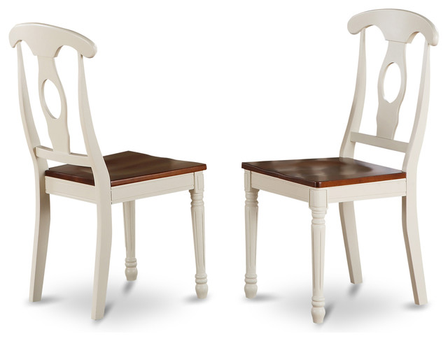 Set Of 2 Napoleon Styled Chair With Wood Seat