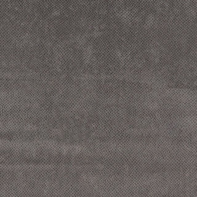 Solid Grey Microfiber Upholstery Fabric By The Yard