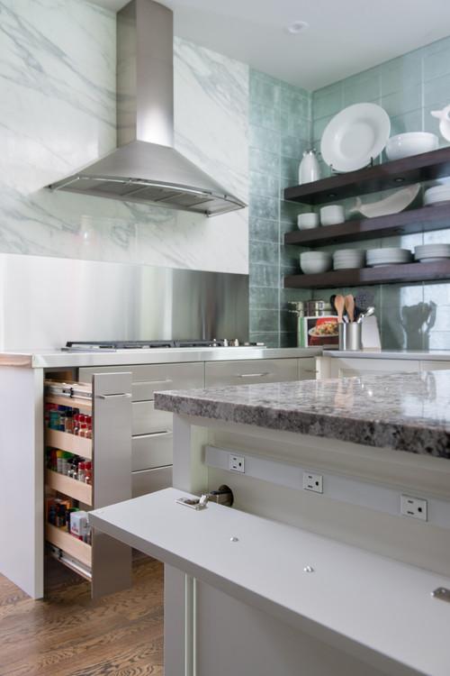 Kitchen Backsplash Outlets : kitchen, backsplash, outlets, Electrical, Outlets, Streamline, Kitchen, Design