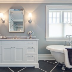 Light Gray Accent Chairs Kids Cheap Table And Oriole - Traditional Bathroom Toronto By Frahm Interiors Burlington On