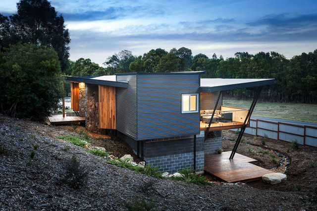 Exterior Wall Cladding Key Considerations For Corrugated Steel Houzz