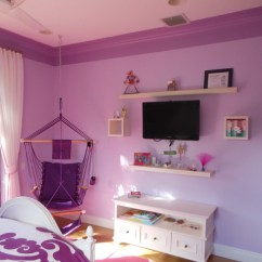 Bedroom Swing Chair Espresso Rocking Nursery Tween Bedrooms - Contemporary Kids Miami