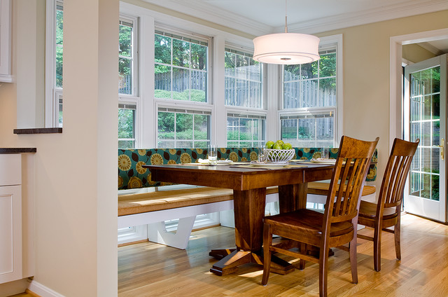 Breakfast Room Addition And Renovation Contemporary Dining Room DC Metro By Wentworth Inc