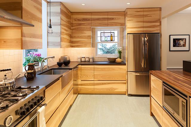 Organic Kitchen Contemporary Kitchen New York By RHG