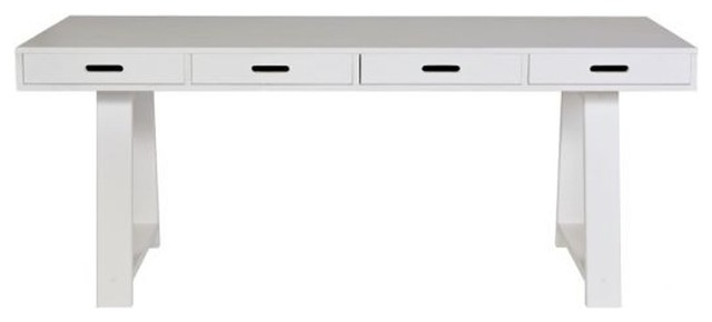 Console Bureau En Pin