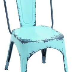 Old Metal Chairs Haworth Office India Fashioned Chair Antiqued Vintage Charm Furniture Decor Industrial Dining By Gwg Outlet