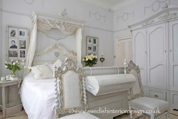swedish interior design bedroom Swedish Gustavian Bedroom - Traditional - Bedroom - london - by Swedish Interior Design