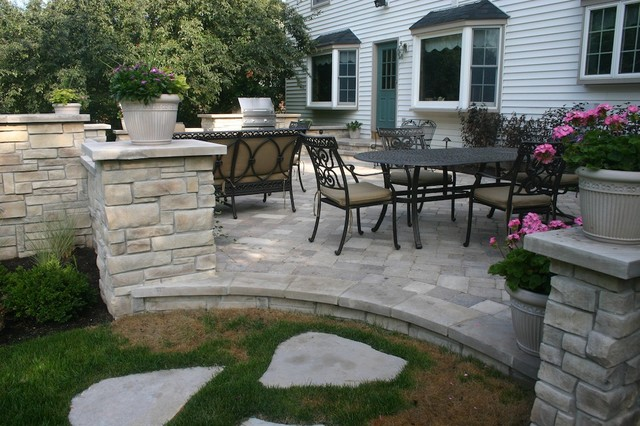 Exterior Stone For Backyard Projects Traditional Patio Chicago By North Star Stone