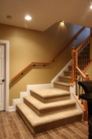 Basement Stairs   Traditional   Staircase   DC Metro   by ...