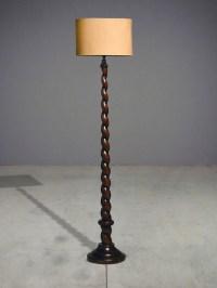 spiral floor lamp  classic - Eclectic - Floor Lamps ...