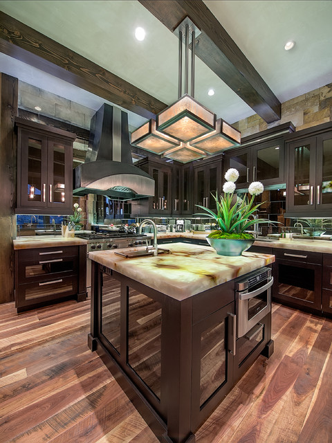 Modern Mountain Kitchen Contemporary Kitchen Denver