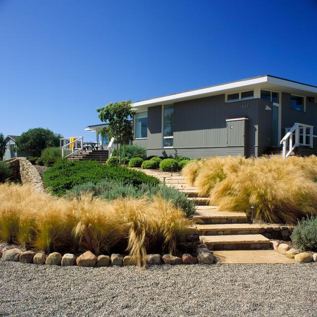 Clarkson Beach House Beach Style Garden Santa Barbara By