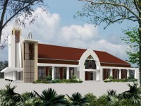 Need help for this church exterior design