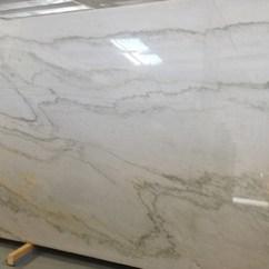 Cream Throws For Sofas M S Seconds Calcatta Quartzite - Kitchen Miami By American Granite ...