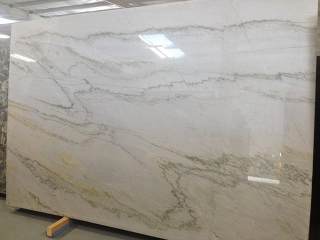Calcatta Quartzite  Kitchen  Miami  by American Granite Company