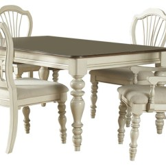 Farmhouse Dining Room Chairs Chair Fit Gym Hillsdale Pine Island 5 Piece Set W Wheat Old White Sets By Beyond Stores