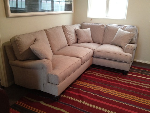 custom sectional sofas los angeles red sofa cassie style - traditional english roll arm ...