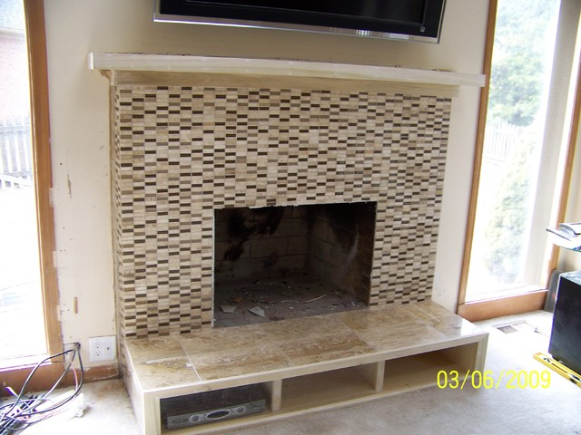 Michigan Fireplace Remodeling Modern Detroit By