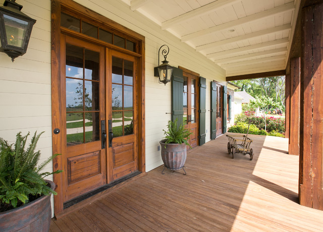 Red River Cottage  Rustic  Porch  Other  by Terry M