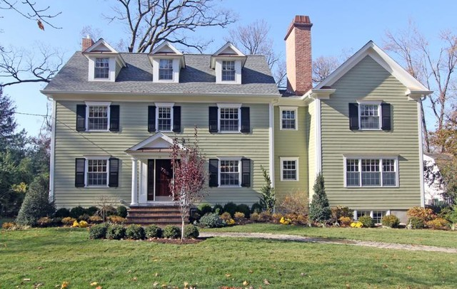 Center Hall Colonial Renovation Addition Traditional