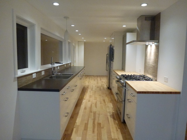 1950s Ranch To Modern Remodel Contemporary Kitchen
