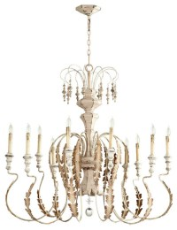 Persian White Chandelier - Chandeliers - by Affordable Home