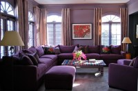 how much is the purple sectional