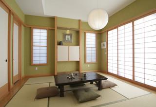 Traditional Japanese アジアン-リビング